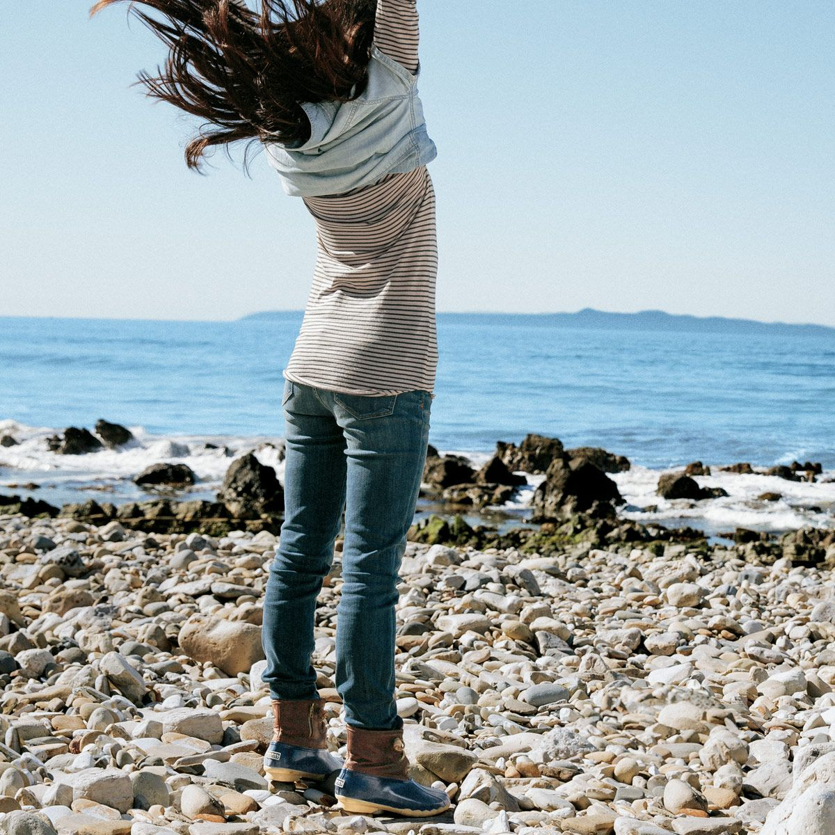 Embrace autumn's crisp, salty air, and the excuse to freshen your wardrobe with seasonal Sperrys and adventurous trends. #duckboots