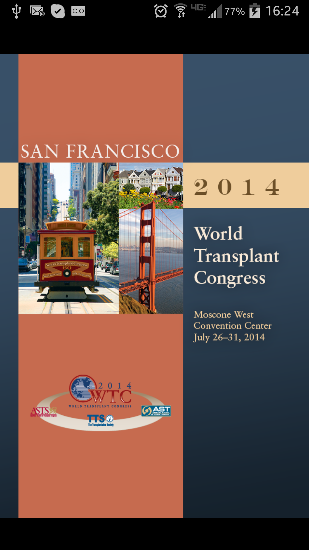 World Transplant Congress 2014 EventPilot Conference App