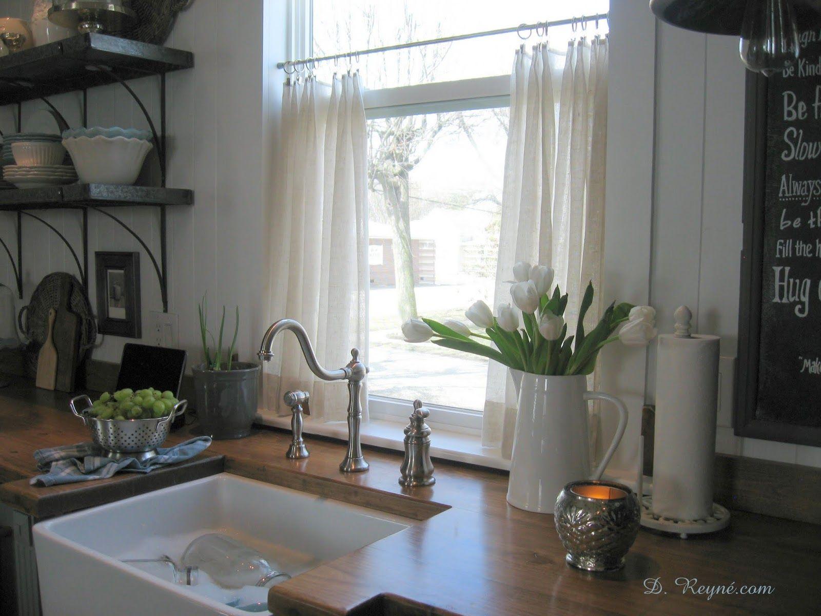 Vorhang Küchenfenster ~ Die besten café vorhänge ideen auf küchenfenster