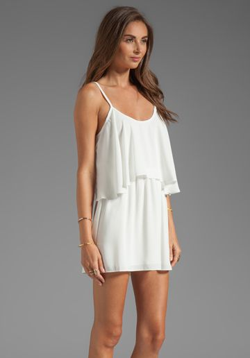 LOVERS + FRIENDS Sunkissed Dress in White at Revolve Clothing - Free Shipping!