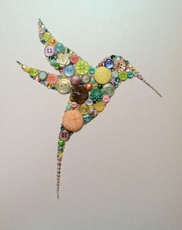 Knopf Kolibri