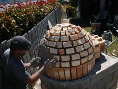 An mate a construir un horno de le a barbacoa oven - Materiales para hacer un horno de lena ...