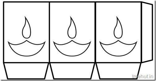 diwali free printable paper lantern templates 4 diwali ideas
