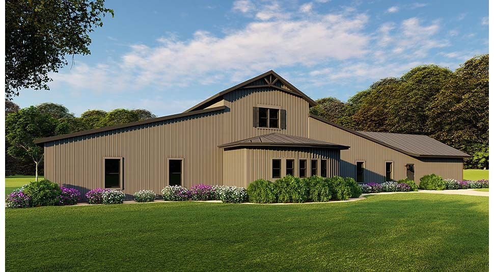 Southern Style House Plan 82515 With 5 Bed 4 Bath 2 Car Garage Farmhouse Style House Plans House Plans Farmhouse Farmhouse Style House