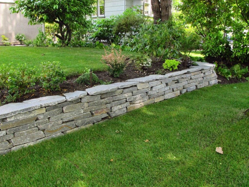 10 Stone Wall Garden Ideas Elegant And Also Stunning Stone Walls Garden Landscaping Retaining Walls Sloped Garden