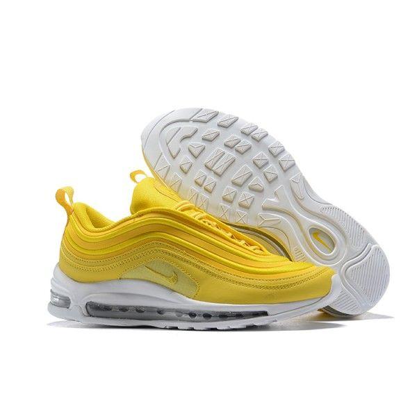 huge selection of 51e10 24045 Enthusiasm Nike Air Max 97 Mustard Yellow White 921733 701 Women s Men s  Footwear Running Shoe