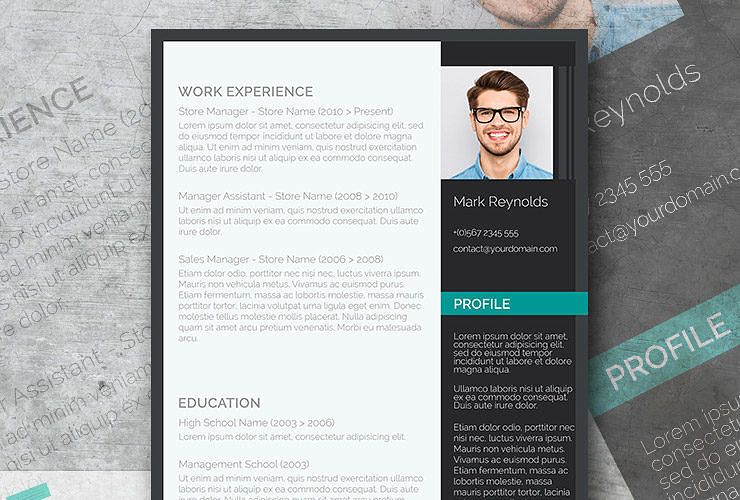 modern and professional resume-template Resumes Pinterest