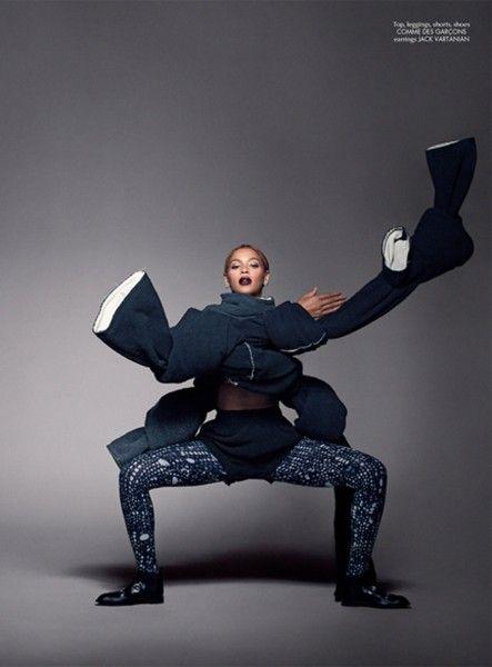 Beyoncé para CR Fashion Book