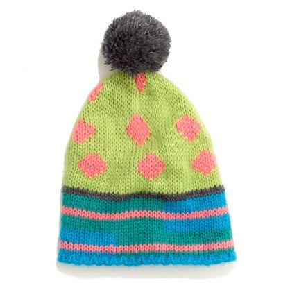 6cfc90d51d5 ++ 1717 olive dotted ski hat