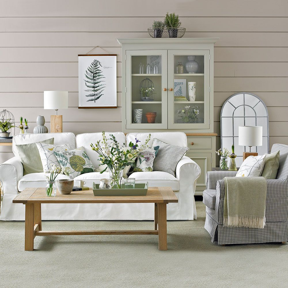 Green living room ideas for soothing, sophisticated spaces ...