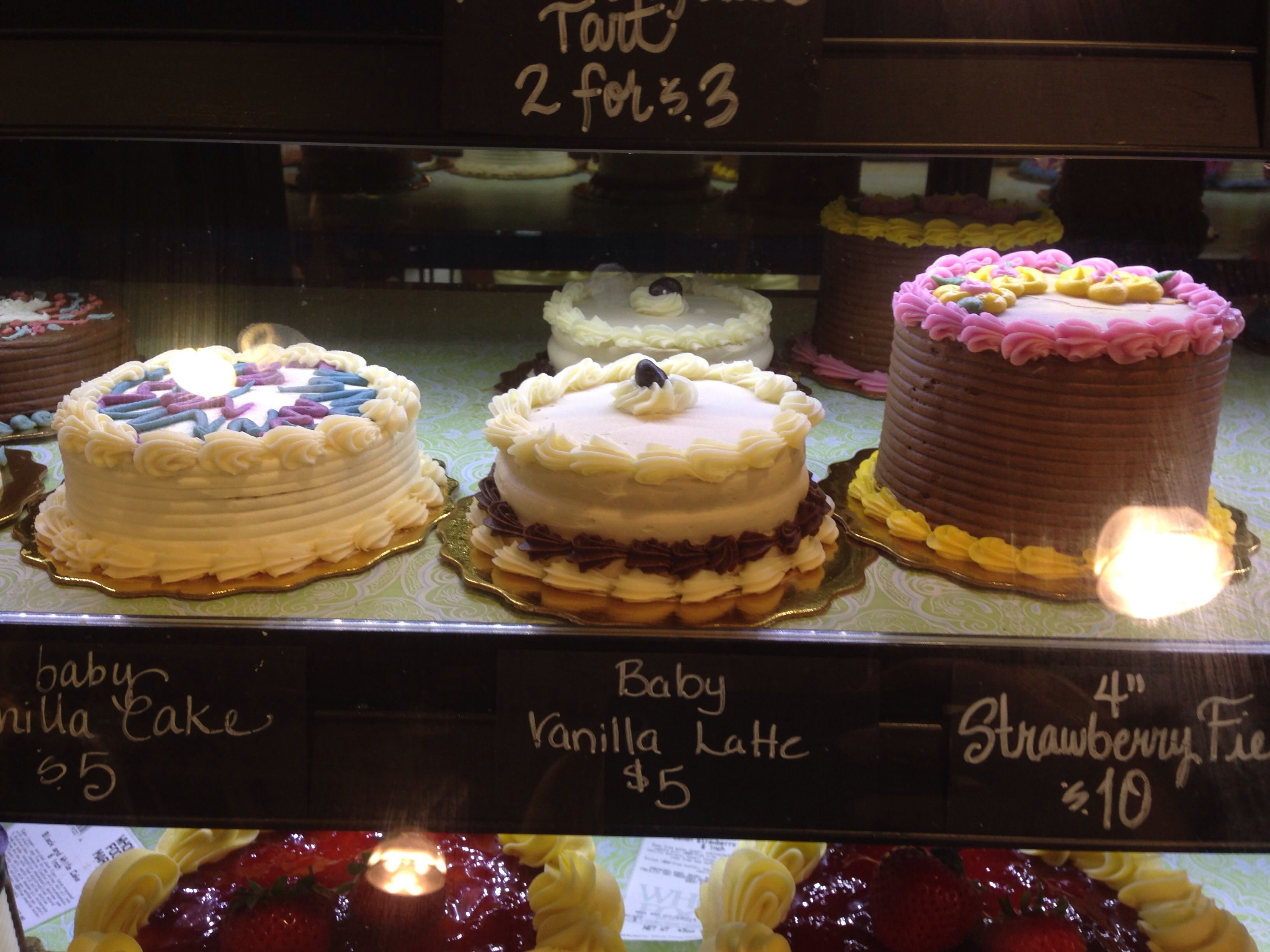 Whole Foods Market Cakes