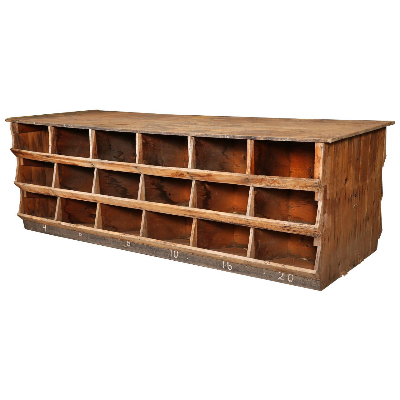 industrial furniture hardware. Vintage Industrial Hardware Store Counter Furniture A