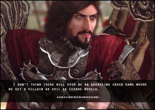 Assassins Creed Confessions Cesare Borgia Assassins Creed