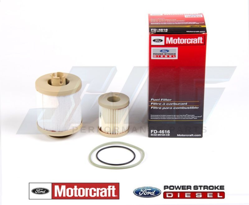 3 Motorcraft Ford F Series 6.0L Powerstroke Turbo Diesel Fuel Filter New FD4616