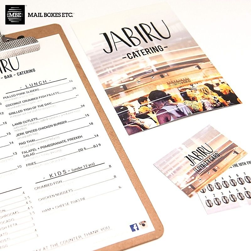 Menus flyers loyalty cards and more we can help with all of a local print shop based in brisbane cbd we specialize in high quality printing of banners business cards flyers and more reheart Images
