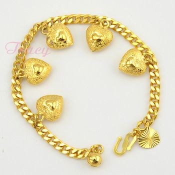 womens-girls-24k-solid-yellow-gold-filled-bracelet-link-curb-chain-heart-charm-bracelets-bangles-wholesale-retails_2332344.jpg 350×350 pixels