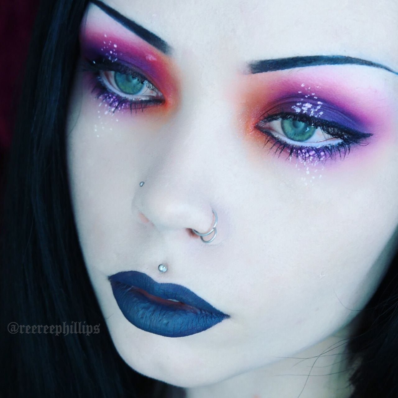 Speckled Sunset Inspired Makeup Tutorial This