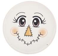 12 Metal Scarecrow Face #scarecrowwreath