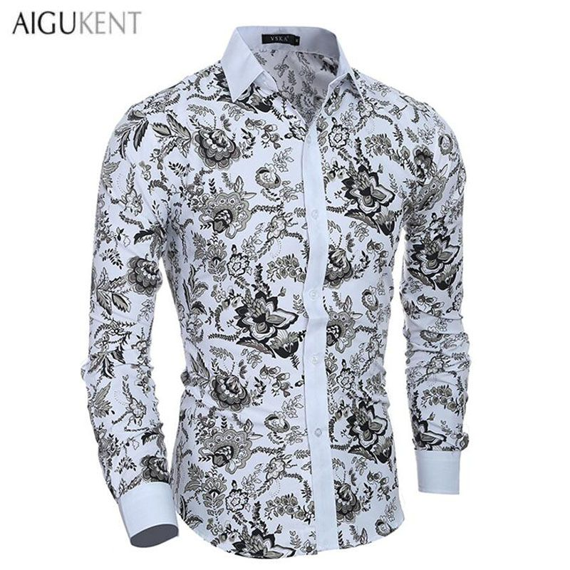 Click to Buy    Casual Men S Shirts Men Long Sleeve Slim Fit Classic ... efd4ba78ce3