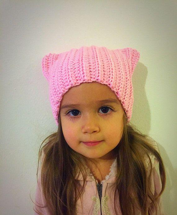 Cat Ear Pink Hat  Cat Hat Women\u2019s March