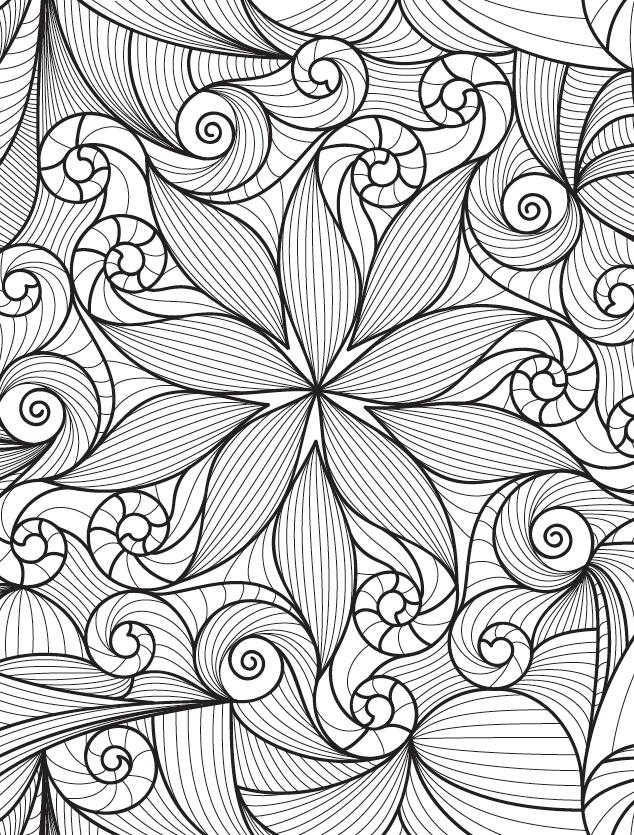 Mandalas y otros dibujos de la selva para colorear (Zenith ...