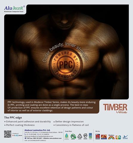 Aludecor #Timber Series powered by #PPC #Technology creates outer beauty and inner #strength. http://www.aludecor.com/decors