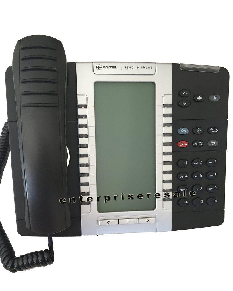Mitel 5340 Ip Backlit Dual Mode Phone 50005071 Refurbished