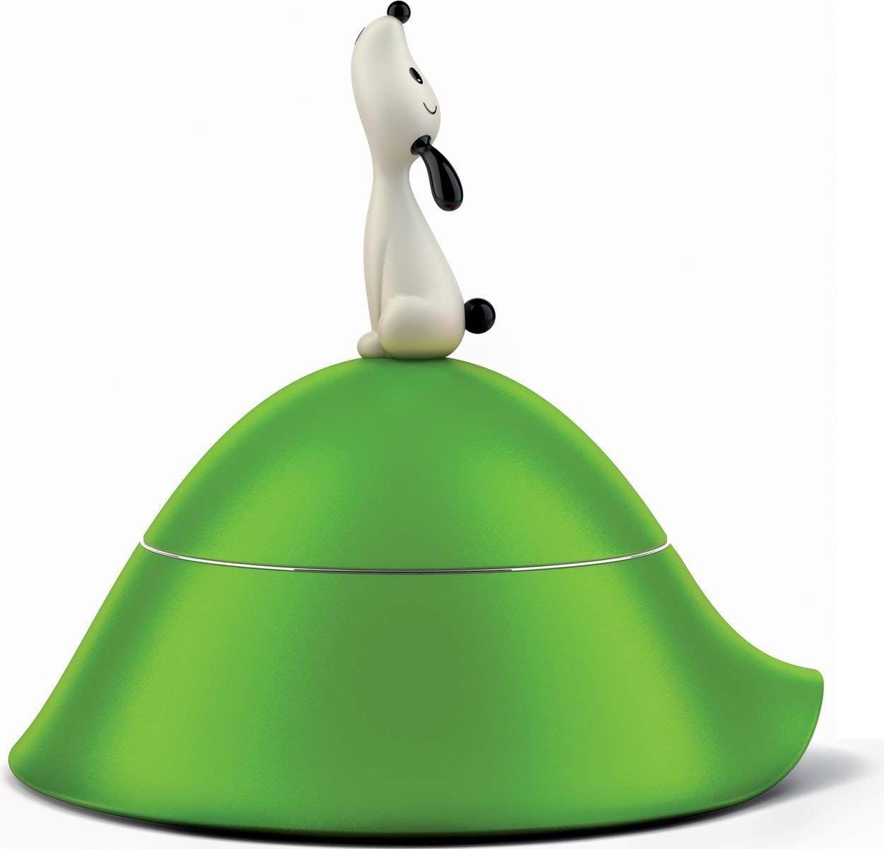 Wedding Gifts For Dog Lovers: Alessi 'Lulà' Dog Bowl, Green -- Click On The Image For