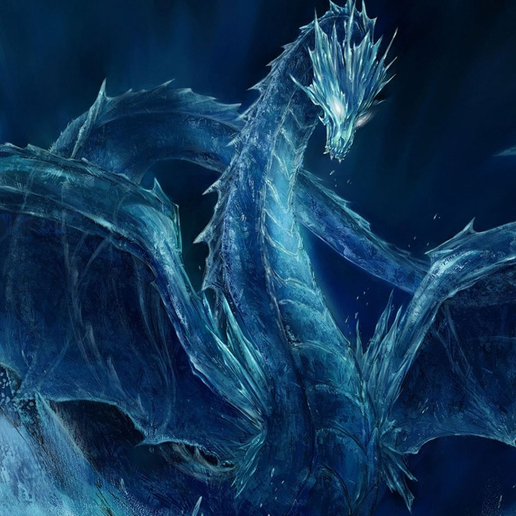 cool ice dragon wallpapers