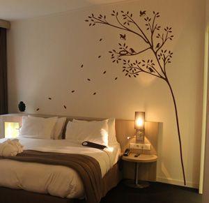 Magikroom vinilos decorativos dormitorio - Decoracion paredes dormitorios ...