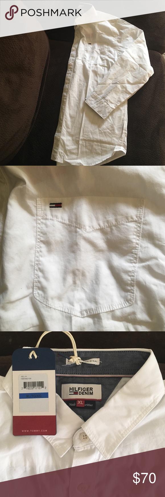 Tommy Hilfiger Tommy Hilfiger mens dress shirt. Tommy Hilfiger Shirts Dress Shirts