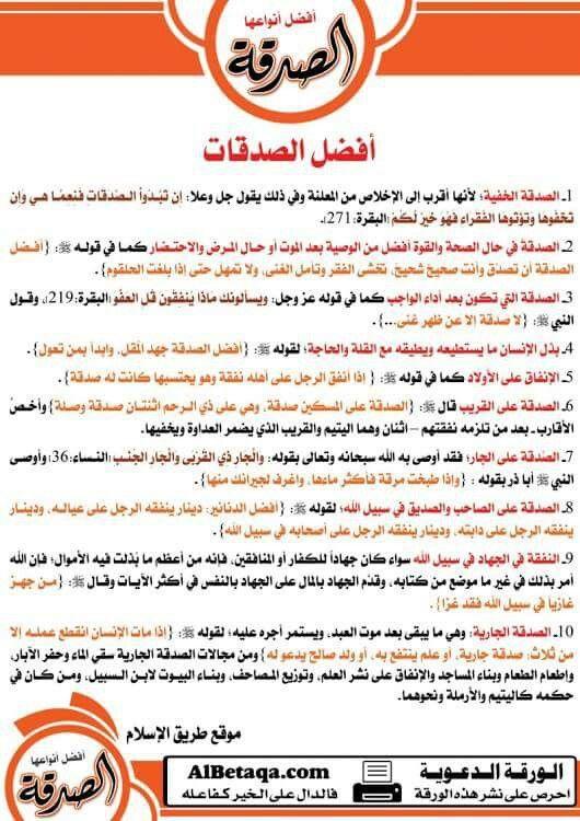 الصدقة Islamic Quotes Verses Quotes
