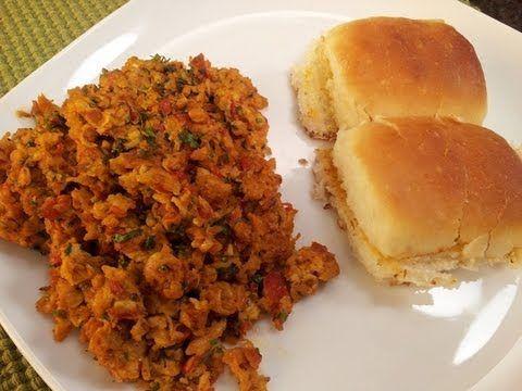 Bhurji pav egg recipes pinterest sanjeev kapoor recipes and bhurji pav indian version of scrambled eggs served with fresh pav forumfinder Gallery