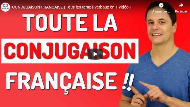 La conjugaison française en 2020 Conjugaison francais