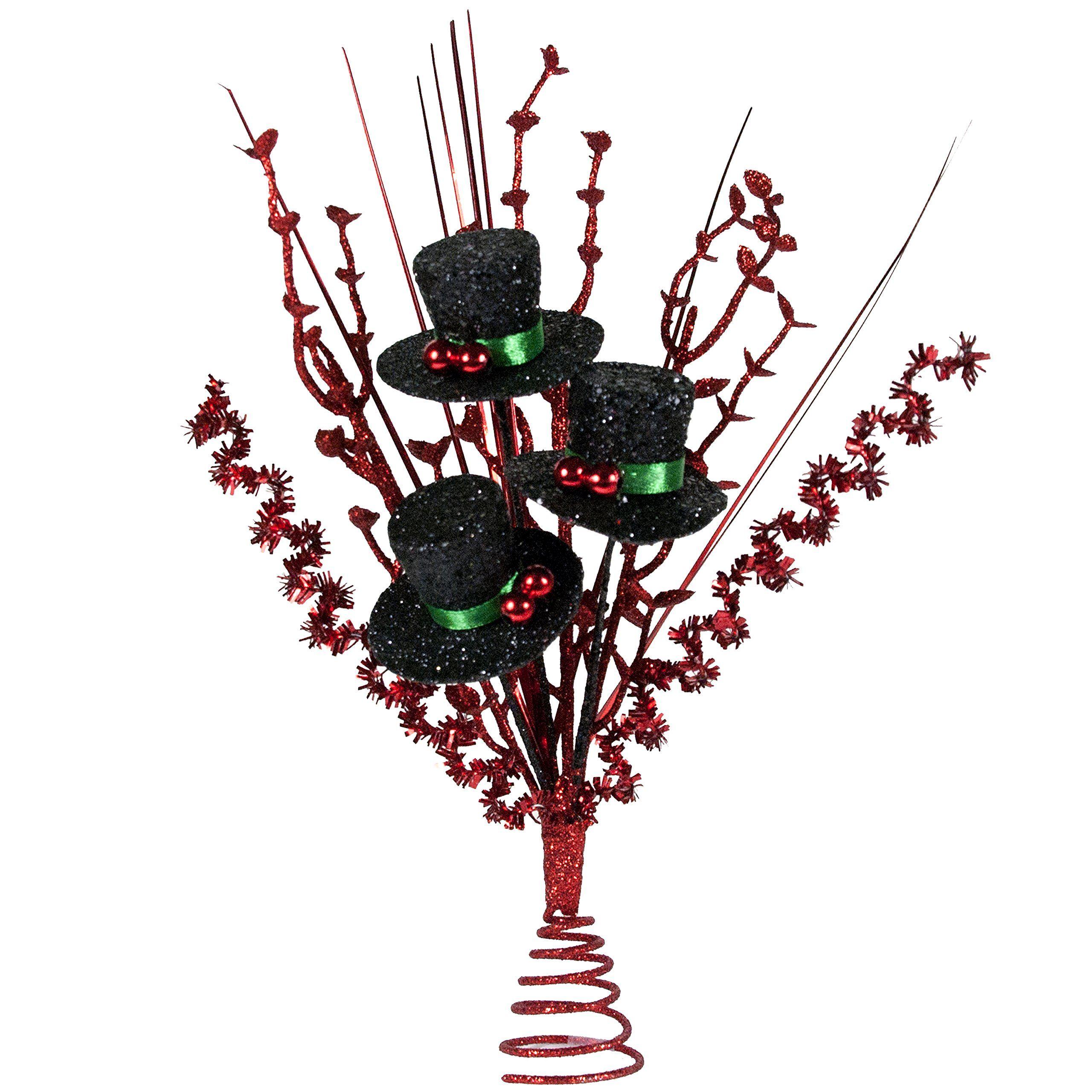 top hat mini tree topper - Mini Christmas Tree Topper