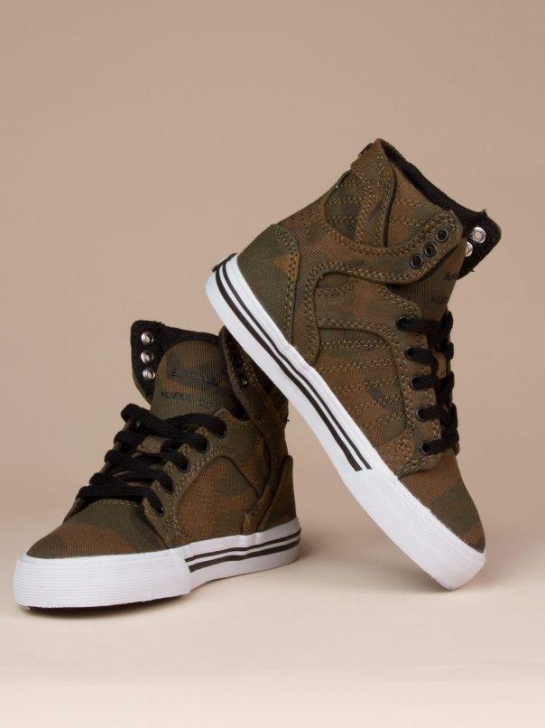 Camo Sky Top Kids by Supra Footwear - ShopKitson.com  3833ca9c6f7f