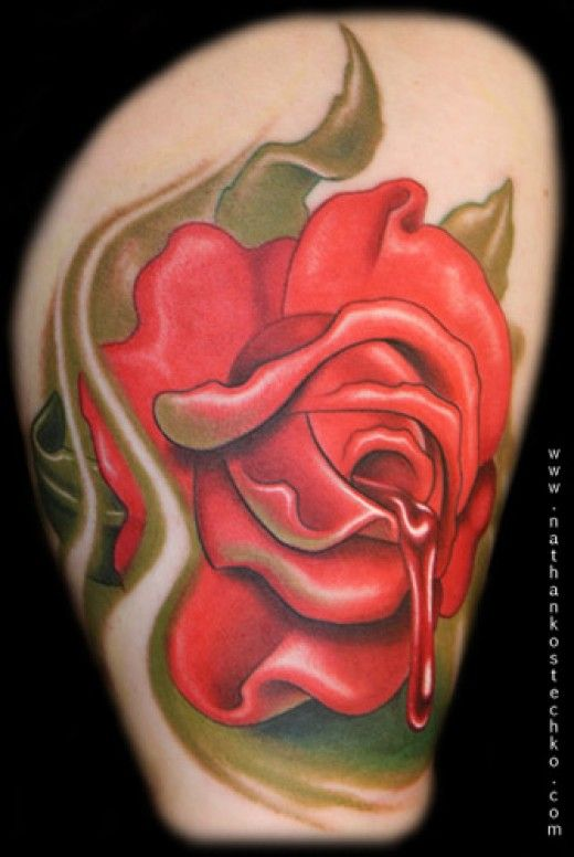 Emo tattoo ideas stars hearts more tattoo tatting - Emo rose pictures ...