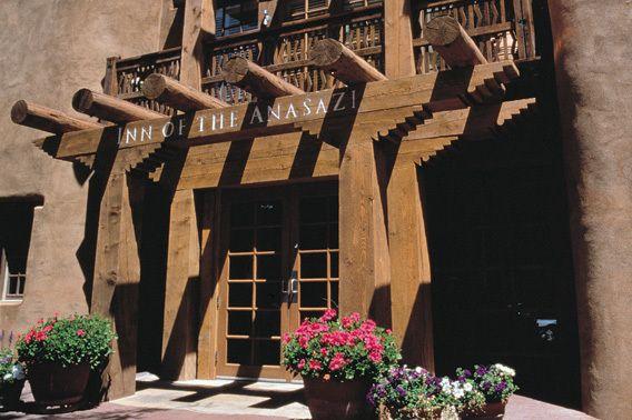 Rosewood Inn Of The Anasazi Santa Fe New Mexico I Love Santa Fe