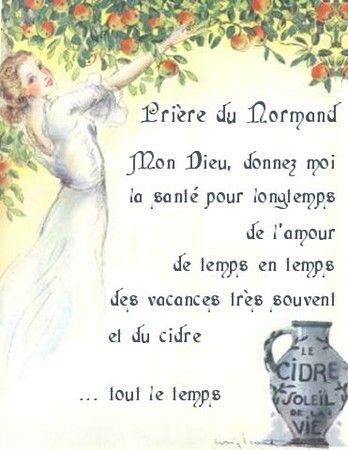 Prière du Normand