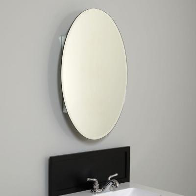 zenna home 20 in x 30 in frameless oval swing door surface mount rh pinterest com Pegasus Oval Medicine Cabinet Three Oval Mirror Medicine Cabinet