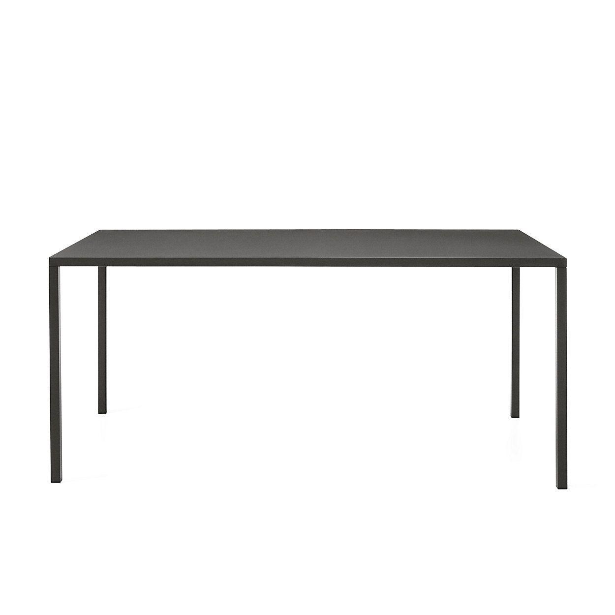 Tisch Fabbrico Rechteckig Gross Anthrazit Klapptisch Tisch