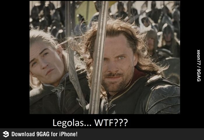 Legolas Weird Faces 11