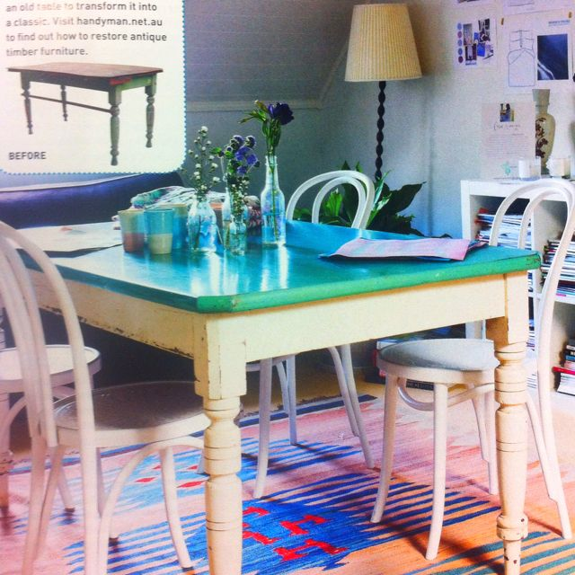 """Restore A Table Diy"""" In This Months Issue Of Australian Handyman Simple Restoring Dining Room Table Inspiration"""