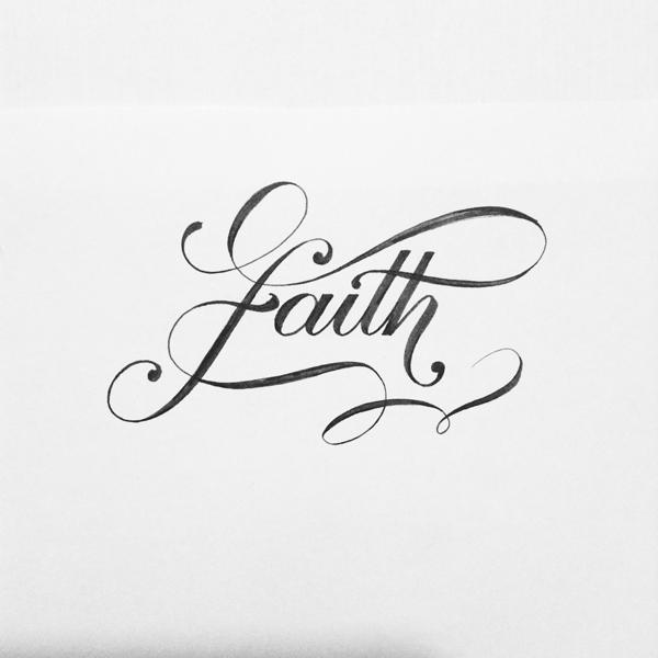 5 Months Of Brush Lettering