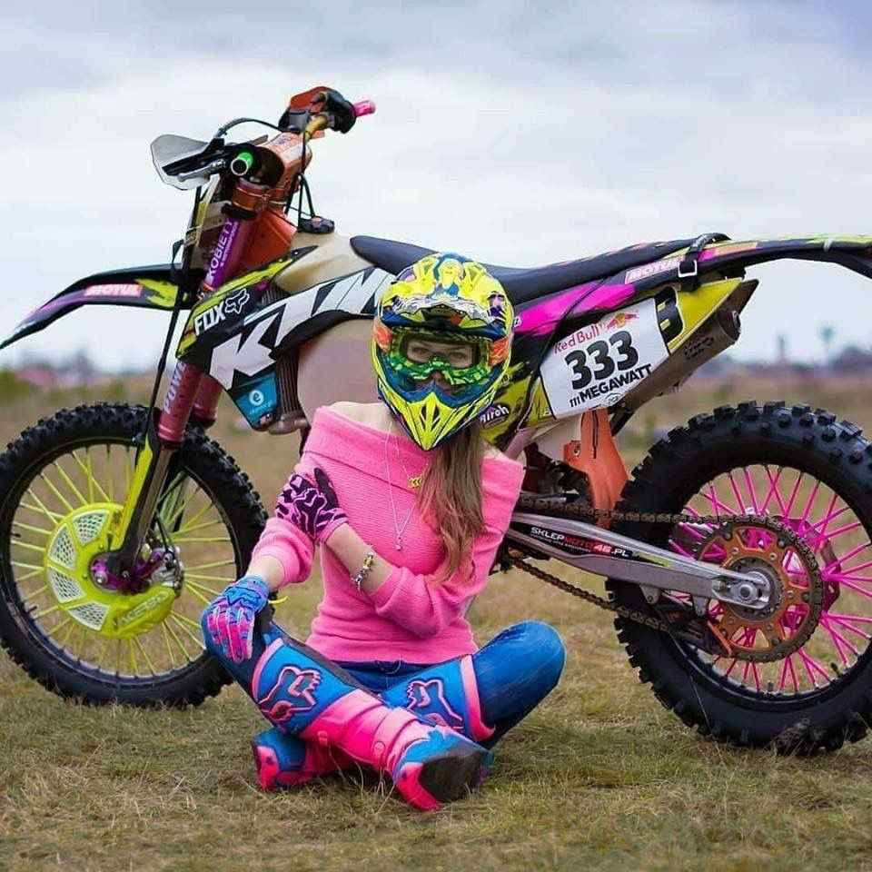 Dream Of Many Girls Motocross Girls Womens Motocross Gear Dirt Bike Gear