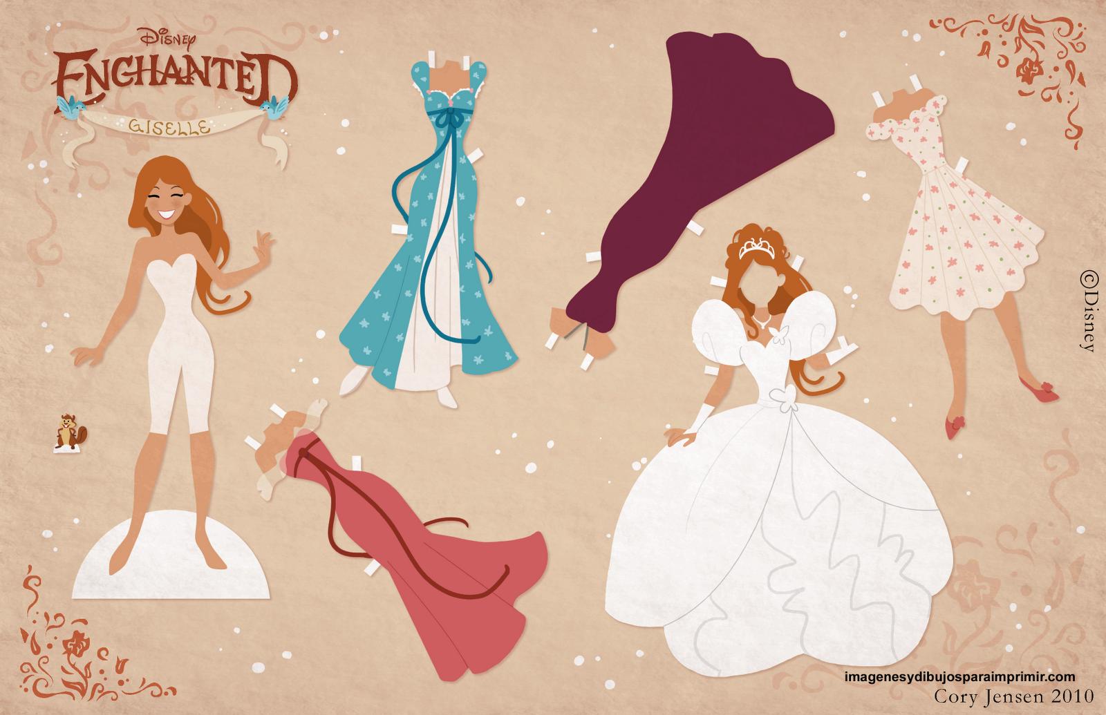 Recortar imagen de la princesa encantadaImagenes y dibujos para