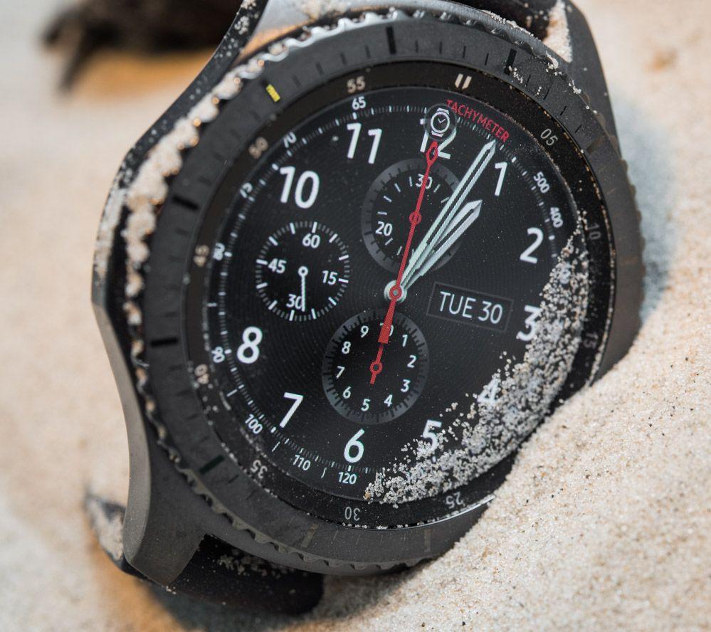 Samsung Gear S3 Frontier & Classic Smartwatch Hands-On ...