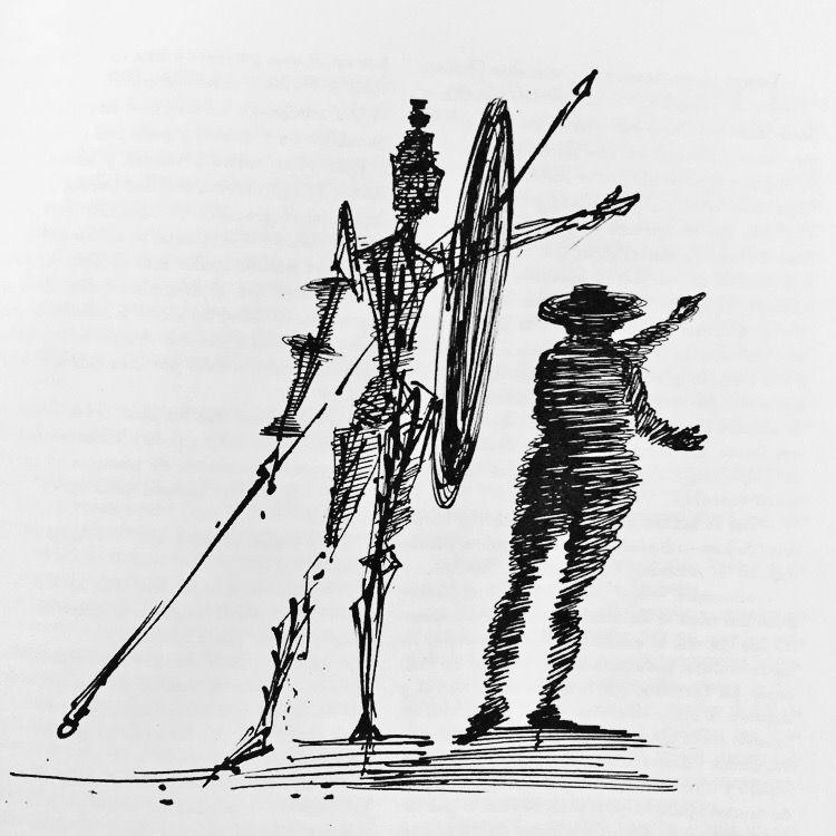 Don Quijote / Don Quixote Sketches By Dali