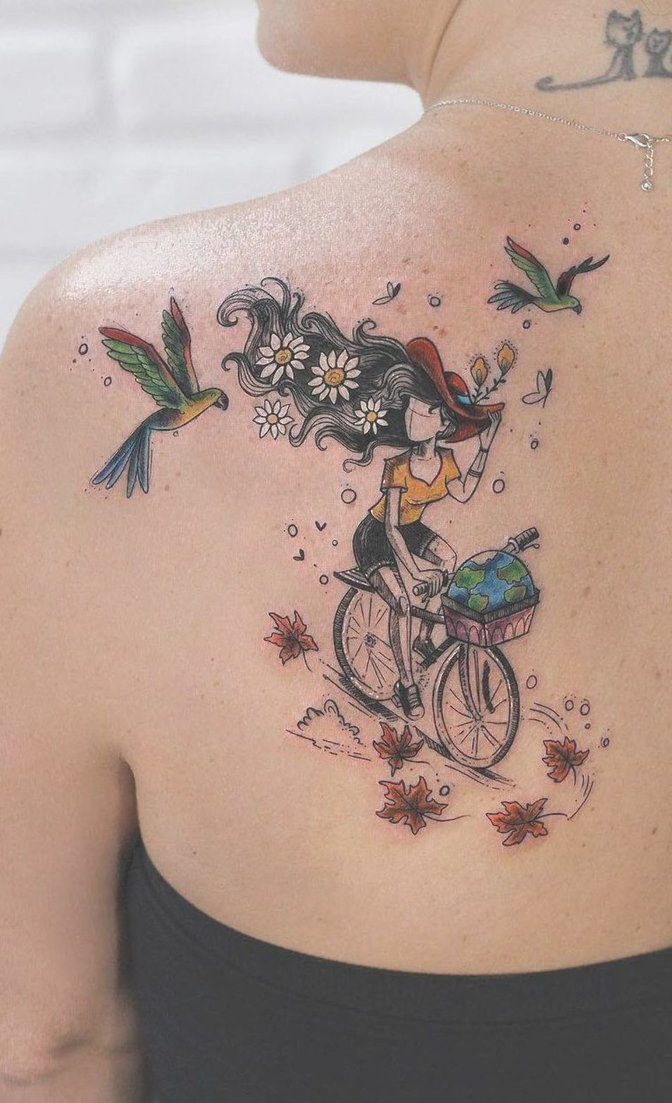 Magical Illustrative Tattoo C Tattoo Artist Robson Carvalho Unusual Tattoo Body Art Tattoos Tattoo Artists