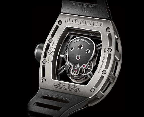 d69a60d6505 Wishlist  Richard Mille Tourbillon RM 052 Skull Watch